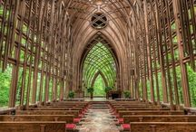 Chapels in the woods / by Kathy Clemmer
