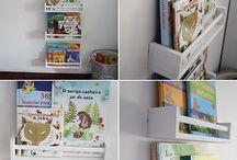 prateleiras livros infantil / Prateleiras