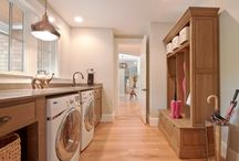 mudrooms / laundry rooms and utility spaces. / by Chelsea Denise