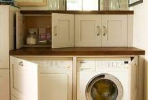 Cottage Laundry Room Decor