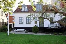 Little white house / somewhere in Scandinavia