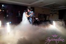 Masina fum cu gheata carbonica / Masina de fum cu gheata carbonica pentru dansul mirilor sau prezentari