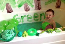 Color green ideas!! / by Nikki Landrum