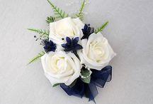 Brudebukett og andre blomster