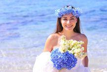 HAWAII WEDDING / EARTH COLORSハワイウェディングのボード