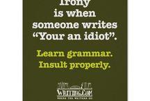Grammar / by Kelly Hall