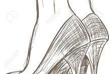 Обувь рисунок
