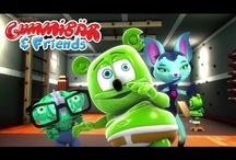 Gummibär And Friends: The Gummy Bear Show / Gummibär's new animated YouTube series Gummibär And Friends: The Gummy Bear Show! Tune in at https://www.youtube.com/user/GummyBearIntl / by Gummibär