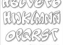 tekenen letters