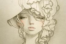 Audrey Kawasaki / by Lauren Longobardi