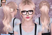 Sims 4 włosy