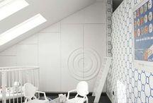 Interiors for children - Wnętrza dzieciece
