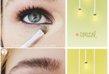 Make-up Mania ~ Eyes / Eye colours, tips & tricks / by Jane