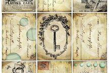 Cartes vintage