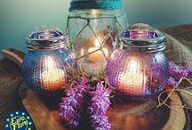 Lights / #candle #lights #flowers  #driedflowers #mum #kuru #cicek #dekor #dekorasyon #decoration #ev #home #euroflora #herdekora #eurofloraherdekora
