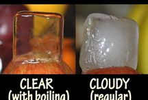Drink - Ice cube ideas