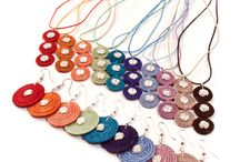 African Swazi Sisal Jewelry / A collection of Fair Trade sisal jewelry lovingly handwoven in Swaziland, Africa.