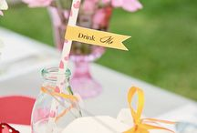 Party Planning:  Mad Hatter Tea Party Theme