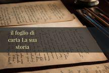 IL foglio di carta la sua storia / Storytelling sulla carta