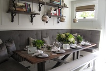 Banquette / by Cindy Hattersley Design/Rough Luxe Lifestyle Blog