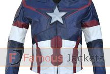 Avengers Age Of Ultron Captain America (Chris Evans) Jacket Costume