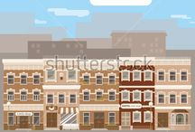 arhitecture and houses