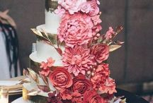 Marsala, Dusty Rose and Blush Wedding Color Inspirations