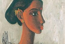 B. Prabha paintings / by Dolly Joshi