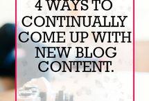 Blog Ideas / by Darla