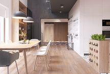 Stue / kjøkken