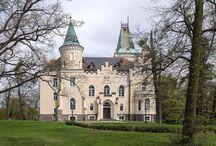 Wielka Lipa - Pałac / Pałac w Wielkiej Lipie. Zamek Elizy - zbudowany w miejscu starszej rezydencji szlacheckiej w 1899r. w stylu neogotyckim. Fundatorem i pierwszym właścicielem był ówczesny właściciel Wielkiej Lipy - Alfred von Waldenburg-Würben. Swój przydomek (Elsenburg) pałac zyskał na cześć żony właściciela - Elizy Karoliny von Krohn. Nad wejściem znajduje się herb rodzin obojga małżonków. Od 1994 właścicielem pałacu jest Ferdinando Caggiati, który wyremontował pałac i nadał mu dawną świetność.