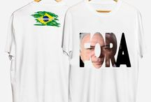 Camisetas Fora Temer
