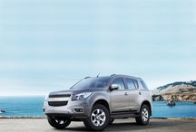 Chevrolet Trailblazer / A perfect harmony of design and luxury makes Chevrolet Trailblazer an ideal choice for those who are looking for something different. It offers both strong performance, ultimate comfort and safery for up to seven people. Whatever lies ahead, you'll be more than ready.