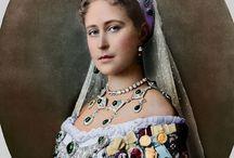 Royal...Królewskie rody / Kolorowane zdjęcia