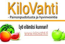 Kilovahti / Pesäkarhujen KIVA painonhallinta ryhmä starttaa 14.1.2014. Katso lisää www.pesakarhut.fi tai www.kilovahti.fi
