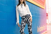 iClothing Florals & Stipes Lookbook SS 2016