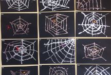 Halloween art / Halloween themed art and crafts for preschoolers