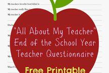Teacher gifts - back to school!