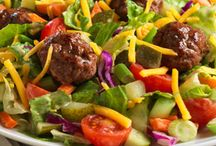 Salad Swap / Recreate the flavors of your favorite higher calorie foods, like cheesy pizza and creamy pasta, in lower calorie salads. Let us show you some better-for-you salad recipes with the same delicious flavors you love. Start swapping now!