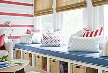 Living Room Decor/Kids organization