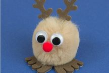 Rudolph & Reindeer Christmas Ideas / Meet Rosey Nosey Rudolph, adding a red nose and a bit of character to any craft project this Christmas.