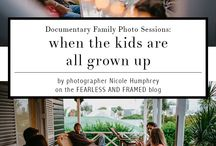photography: documentary sessions with older kids