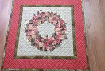 Eigen quilts / Door mij handgemaakte quilts! Handmade by me!