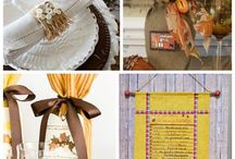 Holiday: Thanksgiving Decor and Ideas