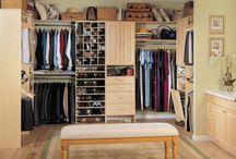 Closets / by Stacy Gafford Wimsatt