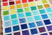 Kleurrijke dekens