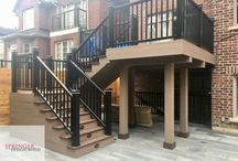 Azek Deck with Composite Railing