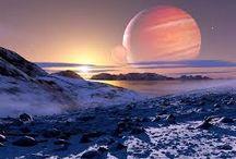 Planeten en manen