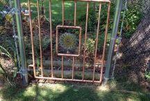 gate Copper pipe