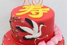 Asiatiska tårtor